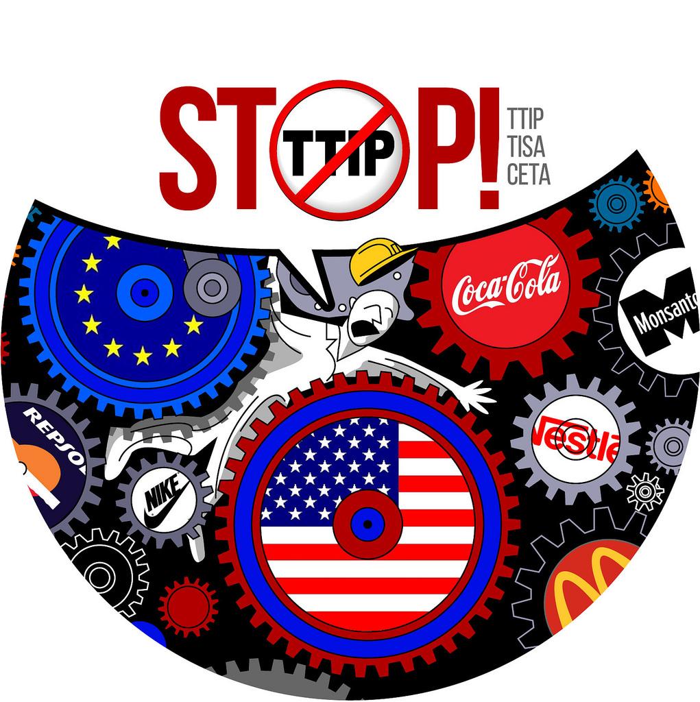 Stop Tratado trasaclántico