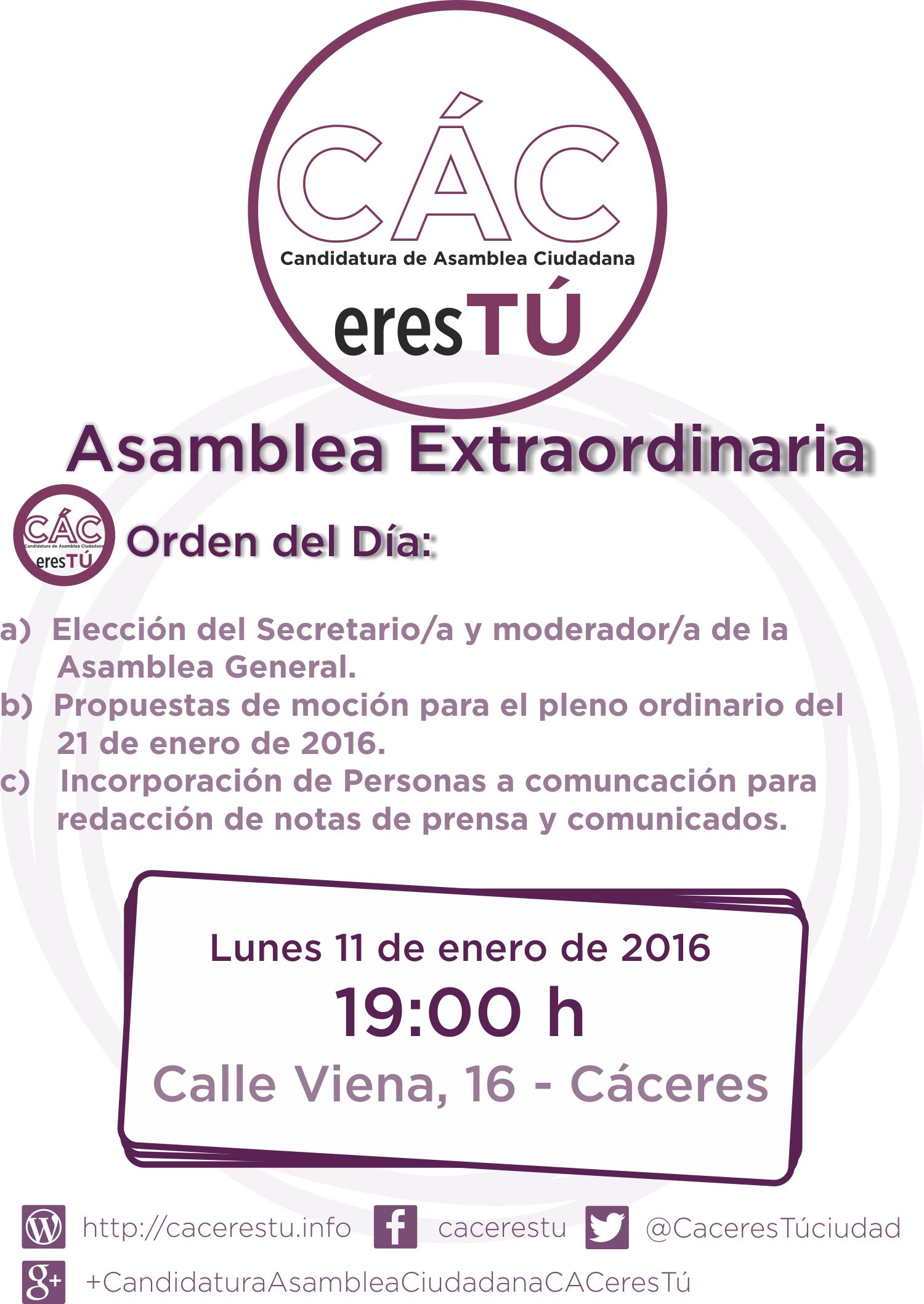 2016-01-11 (Ricardo) Cartel Asamblea Redes
