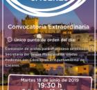 Convocatoria extraordinaria del círculo Podemos Extremadura